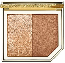 Profumi e cosmetici Palette contorno viso - Too Faced Tutti Fruitti Pineapple Paradise Strobing Bronzer Highlighting Duo