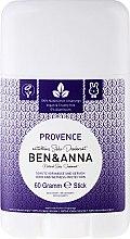 Profumi e cosmetici Deodorante al bicarbonato ''Provenza'' - Ben & Anna Natural Soda Deodorant Provence
