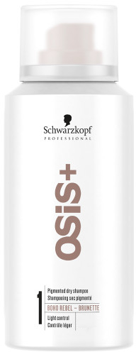 Shampoo a secco per brune - Schwarzkopf Professional Osis+ Boho Rebel Brunette