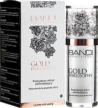 Profumi e cosmetici Elisir anti-età con peptidi - Bandi Professional Gold Philosophy Rejuvenating Peptide Elixir