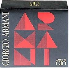 Profumi e cosmetici Giorgio Armani Acqua di Gio - Set (edt 50ml + a/sh balm 75ml + sh/gel 75ml)