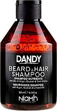 Profumi e cosmetici Shampoo per capelli e barba - Niamh Hairconcept Dandy Beard & Hair Shampoo