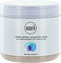 Profumi e cosmetici Peeling corpo allo zucchero - Naturativ Hypoallergenic Body Sugar Scrub