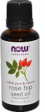 Profumi e cosmetici Olio essenziale di rosa canina - Now Foods Essential Oils 100% Pure Rose Hip Seed Oil