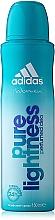 Profumi e cosmetici Adidas Pure Lightness - Deodorante-spray