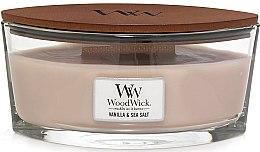 Profumi e cosmetici Candela profumata in vetro - Woodwick Sea Salt & Vanilla Scented Candle