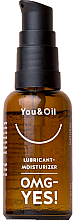 """Profumi e cosmetici Gel lubrificante intimo """"OMG YES"""" - You & Oil Lubricant-Moisturizer OMG-Yes!"""