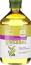 Profumi e cosmetici Shampoo alla liquirizia per cuoio capelluto sensibile - O'Herbal