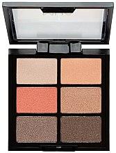 Profumi e cosmetici Palette ombretti - MUA 6 Shade Palette