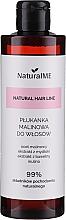 Profumi e cosmetici Balsamo per capelli grassi con aceto di lamponi - NaturalME Natural Hair Line Balm