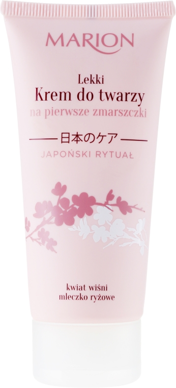 Crema viso - Marion Japanese Ritual Light Face Cream for First Wrinkles