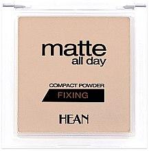 Profumi e cosmetici Cipria opacizzante - Hean Matte All Day Compact Powder
