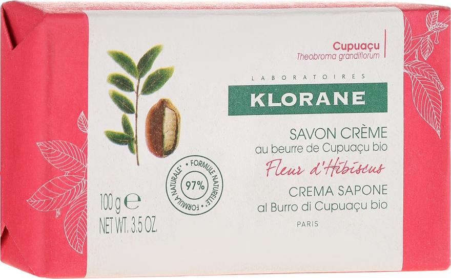 Sapone - Klorane Cupuacu Hibiscus Flower Cream Soap — foto N1