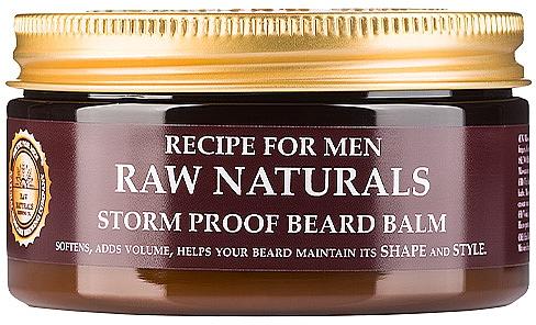 Balsamo per barba - Recipe For Men RAW Naturals Storm Proof Beard Balm