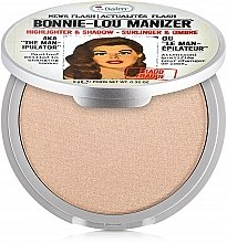Profumi e cosmetici Illuminante-ombretto - theBalm Bonnie-Lou Manizer Highlighter & Shadow