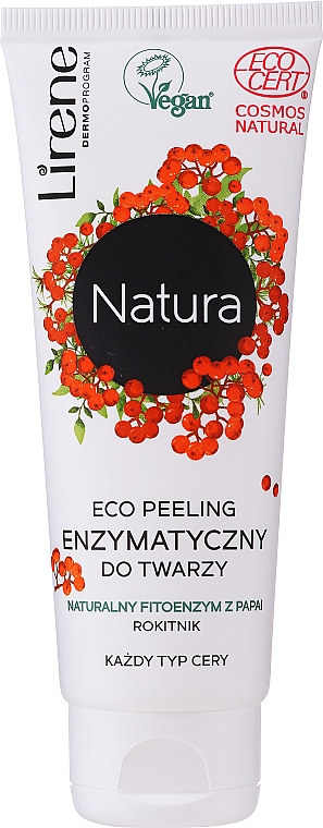 Eco-peeling enzimatico viso - Lirene Natura Eco Peeling
