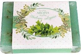 """Profumi e cosmetici Sapone """"Menta"""" - Delicate Organic Aroma Soap"""