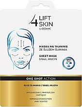 Profumi e cosmetici Maschera in tessuto con bava di lumaca - AA Cosmetics Lift 4 Skin Sheet Mask Snail Mucin