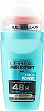 Profumi e cosmetici Deodorante roll-on - L'Oreal Paris Men Expert Cool Power Deodorant Roll-on
