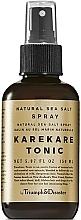 Profumi e cosmetici Tonico-spray per capelli al sale marino - Triumph & Disaster Karekare Tonic Salt Spray