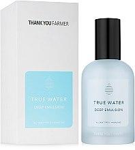 Profumi e cosmetici Emulsione idratante profonda - Thank You Farmer True Water Deep Emulsion