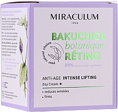 Profumi e cosmetici Crema viso da giorno - Miraculum Bakuchiol Botanique Retino Anti-Age Intensive Lifting