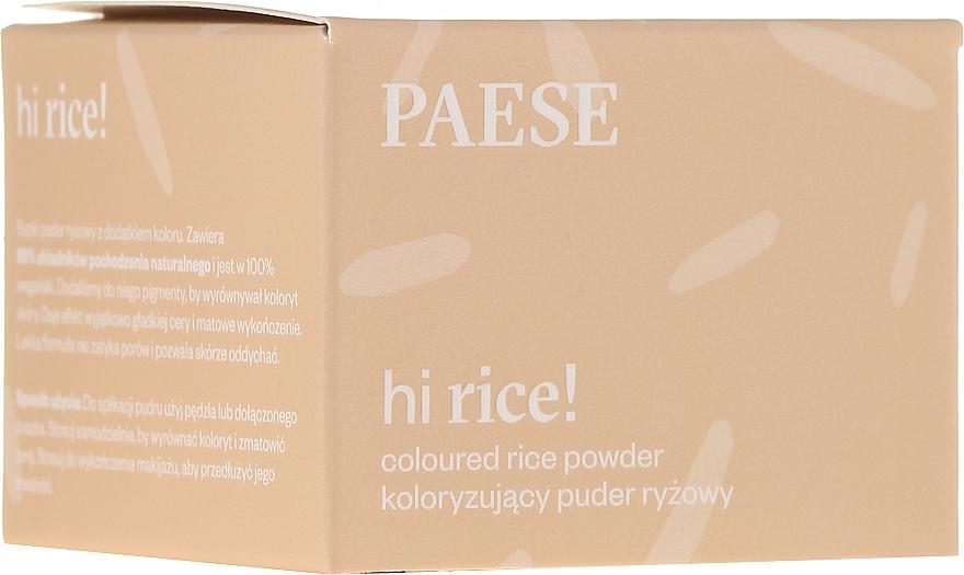 Polvere di riso tonificante - Paese Hi Rice Coloured Rice Powder