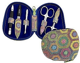 Profumi e cosmetici Set per manicure - DuKaS Premium Line Manicure Set 5-piece PL 111FP