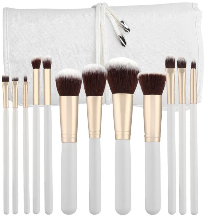 Set di pennelli professionali per trucco, 12 pezzi - Tools For Beauty