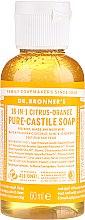 """Profumi e cosmetici Sapone liquido """"Agrumi e arancia"""" - Dr. Bronner's 18-in-1 Pure Castile Soap Citrus & Orange"""