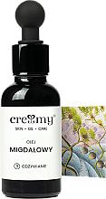 Profumi e cosmetici Olio di mandorle non raffinato - Creamy