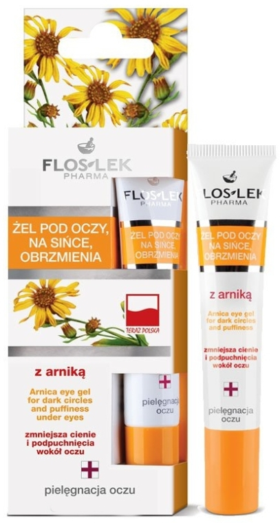 Gel contorno occhi - Floslek Arnica Gel For Dark Circles And Puffiness Under Eyes