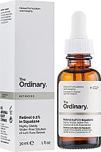 Profumi e cosmetici Siero viso con retinolo 0,2% in squalano - The Ordinary Retinoids Retinol 0.2% In Squalane