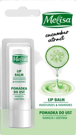 Balsamo labbra con estratto di cetriolo - Uroda Melisa Cucumber Extract Lip Balm