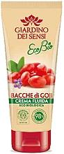 Profumi e cosmetici Balsamo corpo - Giardino Dei Sensi Ecobio Goji Berries Fluid Cream