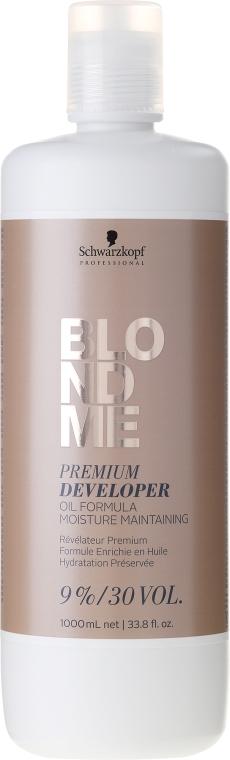 Crema ossidante per capelli 9% - Schwarzkopf Professional Blondme Premium Developer 9%