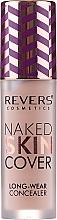 Profumi e cosmetici Correttore liquido - Revers Naked Skin Cover Long-Wear Concealer