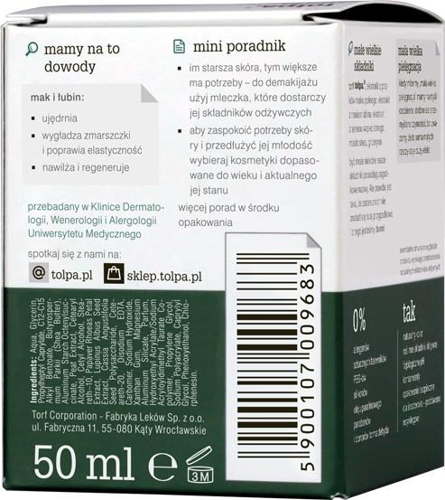 Crema viso antirughe rassodante e idratante da giorno - Tolpa Green Firming 40+ Rejuvenating Anti-Wrinkle Day Cream — foto N2