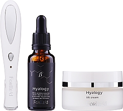 Profumi e cosmetici Zestaw - Forlle'd Smart Face Care (f/cr/50g + f/ser/30ml + beauty device/1pc)