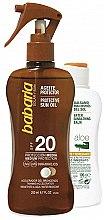 Profumi e cosmetici Set - Babaria Sun (b/oil/200ml + balm/100ml)