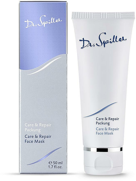 Maschera viso rivitalizzante - Dr. Spiller Care & Repair Face Mask — foto N1