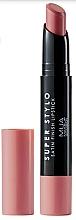 Profumi e cosmetici Rossetto - MUA Academy Super Stylo Satin Finish Lipstick (Fabulicious)