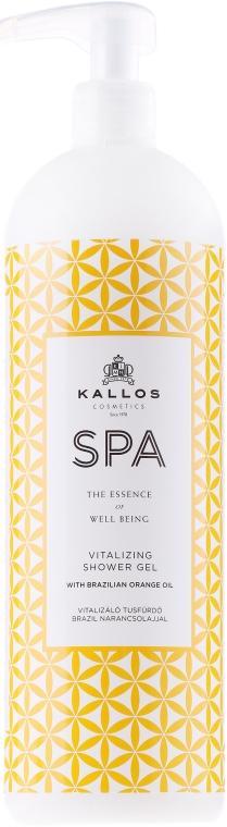 Gel tonificante doccia - Kallos Cosmetics Spa Vitalizing Shower Gel