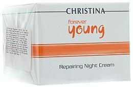Profumi e cosmetici Crema rigenerante da notte - Christina Forever Young Repairing Night Cream