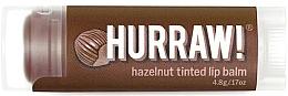 "Profumi e cosmetici Balsamo labbra ""Nocciola"" - Hurraw! Hazelnut Tinted Lip Balm"