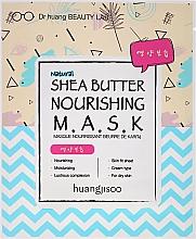 Profumi e cosmetici Maschera viso in tessuto nutriente - Huangjisoo Shea Butter Nourishing Mask