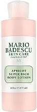 Profumi e cosmetici Lozione corpo - Mario Badescu Apricot Super Rich Body Lotion
