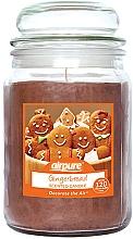 """Profumi e cosmetici Candela profumata """"Gingerbread"""" - Airpure Jar Scented Candle Gingerbread"""