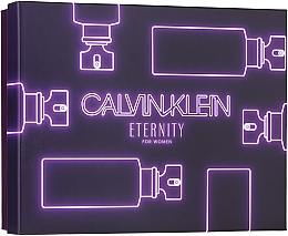 Profumi e cosmetici Calvin Klein Eternity For Woman - Set (edp/100ml + edp/10ml + b/l/100ml)