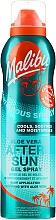 Profumi e cosmetici Spray doposole - Malibu Aloe Vera After Sun Gel Spray